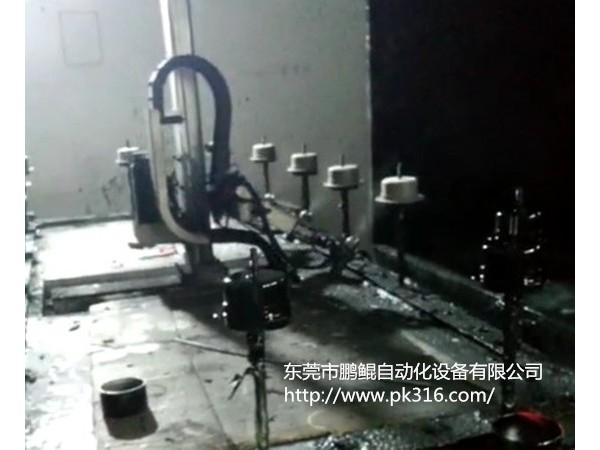 电机盖自动喷涂线解决方案