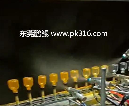 玻璃瓶喷涂生产线