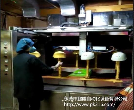 安全帽自动喷漆机
