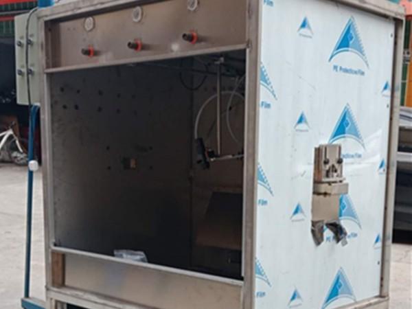 深圳喷涂设备厂—可定制喷涂水帘柜一体电线喷涂设备