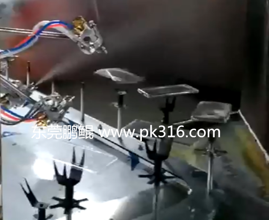 手机外壳自动化喷涂机