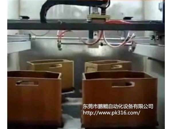 木质音响自动喷漆机解决方案