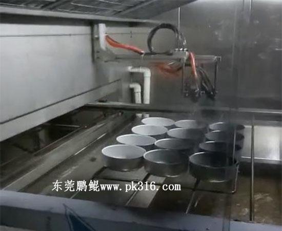铝锅铝餐盒喷涂生产线1