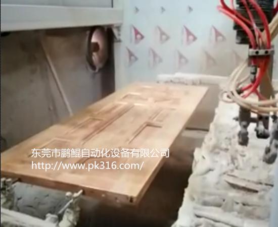 木门自动喷漆设备