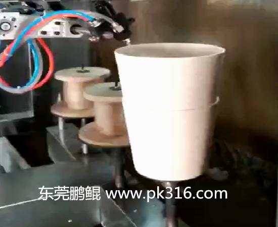 垃圾桶自动喷漆机