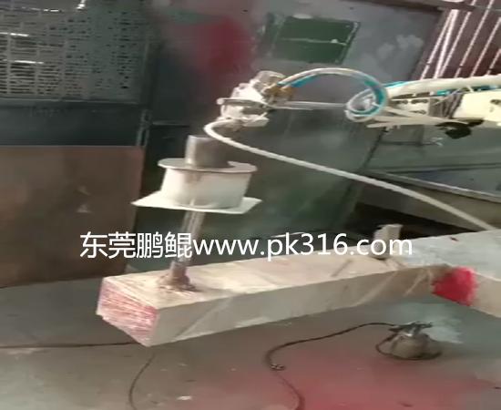 汽车车尾管自动喷漆机