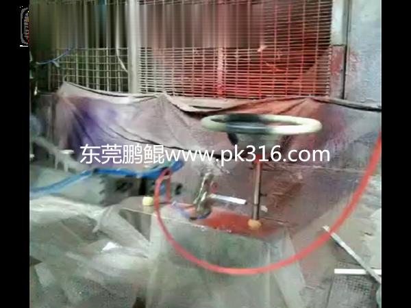 广东莞方向盘自动喷漆机