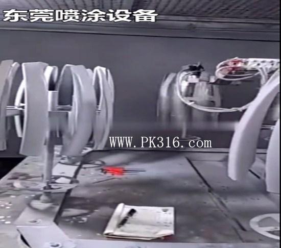 塑胶件自动喷漆机2