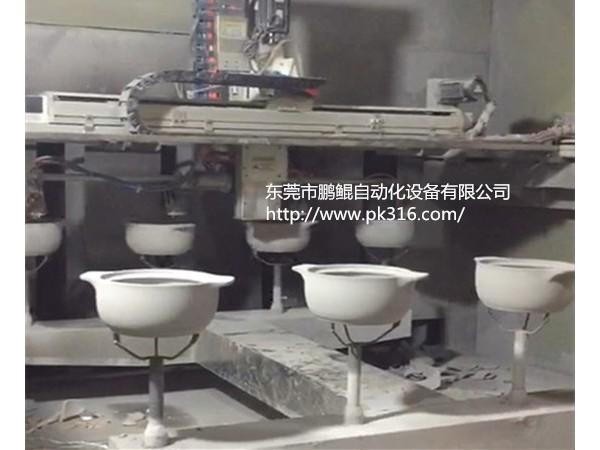陶瓷砂锅自动喷釉设备解决方案