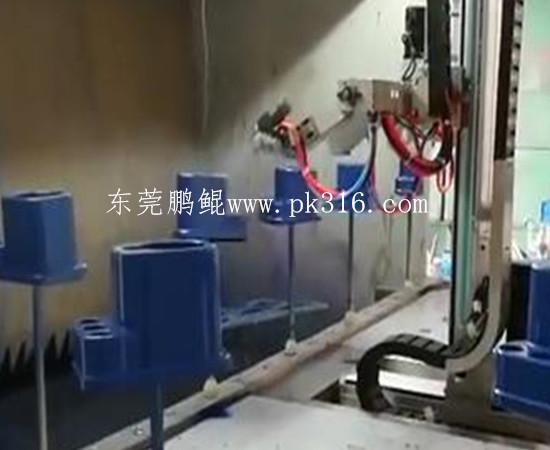 塑胶件自动喷涂机