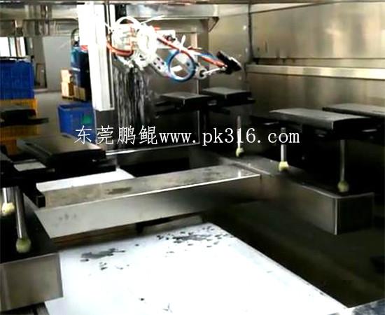 电机外壳自动喷漆机