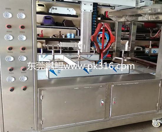 塑料衣架自动喷漆机