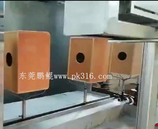 木制音响自动喷漆机