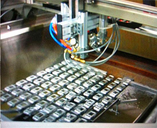 塑料键盘按键自动喷漆机器3