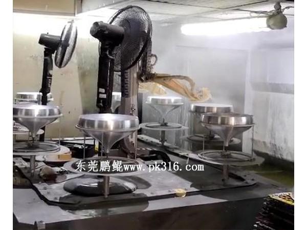惠州灯碗灯罩色自动喷漆设备,喷涂品质高!