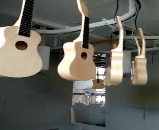 吉他静电喷漆设备