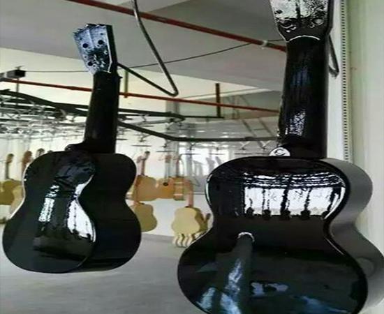 吉他静电喷漆设备2