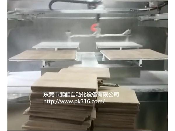 佛山木板全自动喷涂机节省人工成本智能高效!