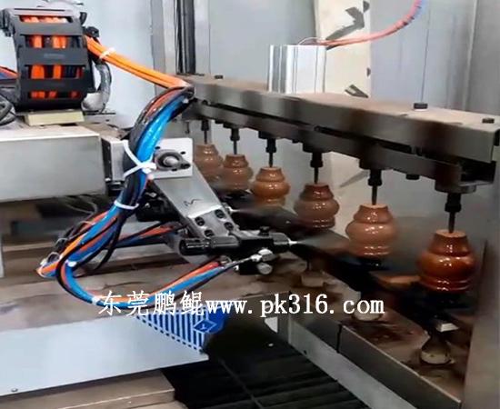 木制桌脚自动喷漆生产线 (2)