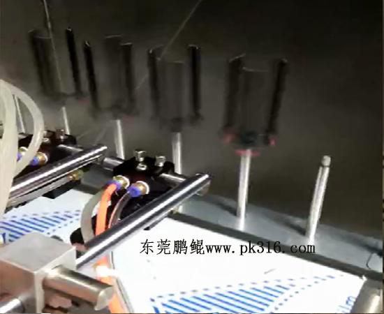 东莞画笔笔杆喷漆机 (2)