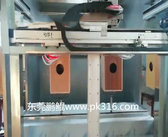 木音箱自动喷涂设备.