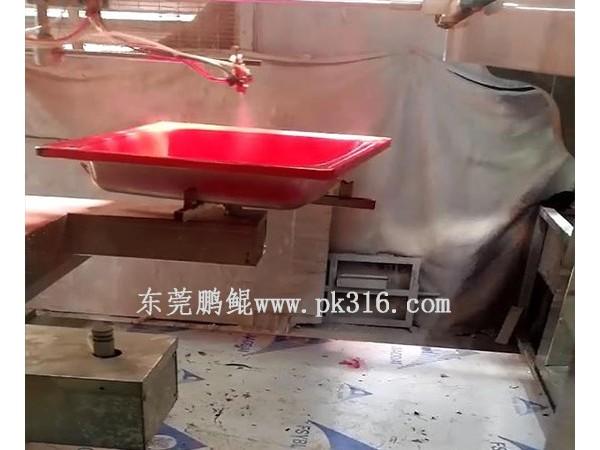 佛山卫浴陶瓷涂装设备,喷漆喷釉均匀品质好!