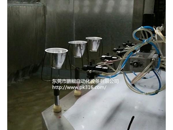 广东惠州灯饰灯具灯罩自动喷涂机专业制造厂商