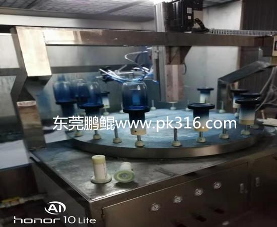 玻璃器皿自动喷色机