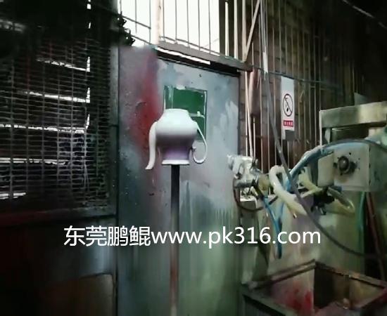 陶瓷茶壶自动喷涂机