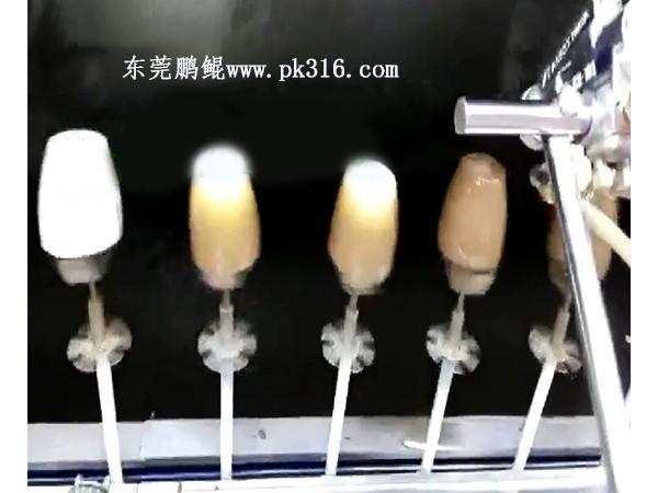 塑料PP花盆自动喷漆设备,选择可以验厂看机器的厂家