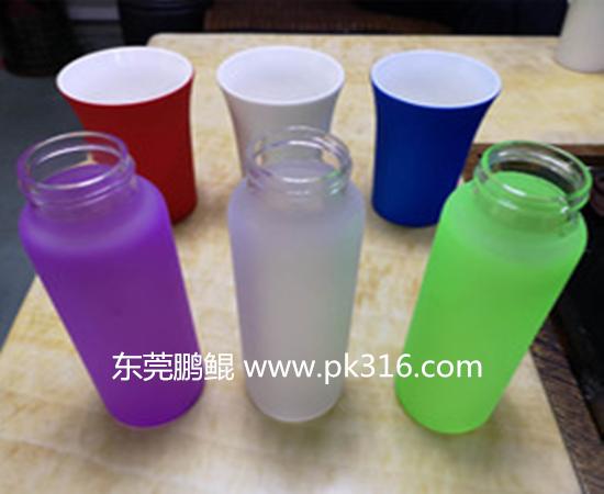 玻璃杯外喷硅胶