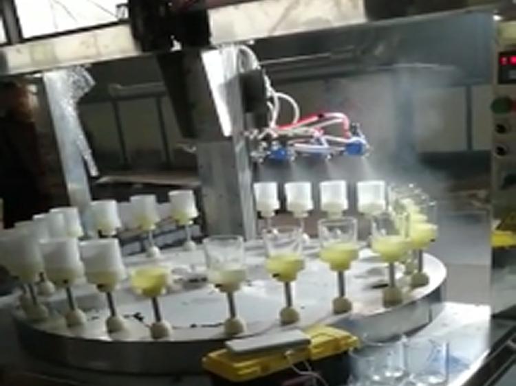 玻璃内喷自动化喷涂设备