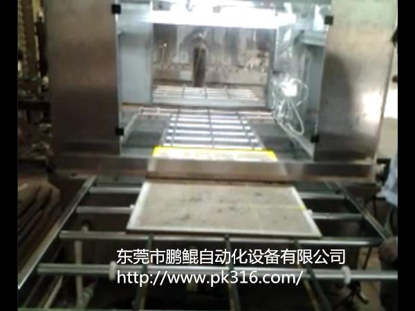 钢化玻璃自动喷漆设备解决方案
