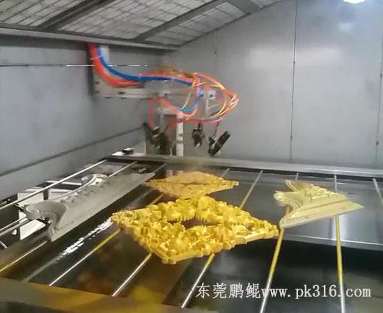 塑料产品喷油机器