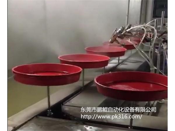 广州搪瓷自动喷涂流水线厂家定制高产值低成本