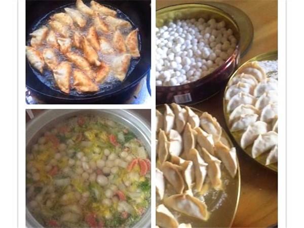 来自鹏鲲食堂发来的通知:冬至佳节吃饺子!