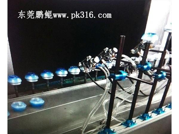 江苏徐州玻璃容器喷涂流水线的工艺流程!