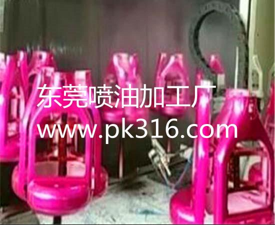 东莞塑胶喷油加工厂