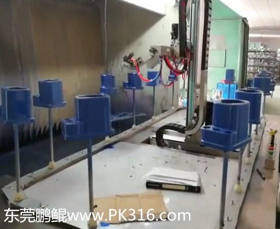 豆浆机自动喷漆设备1