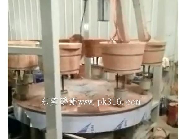 木桶自动喷漆机