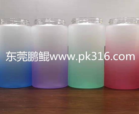 玻璃水杯硅胶漆自动喷涂设备