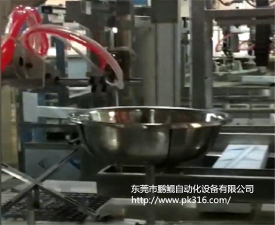 不锈钢脸盆自动喷油设备