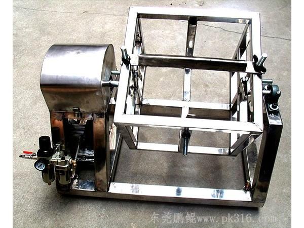 气动分散机+不锈钢油漆摇摆机,360度旋转