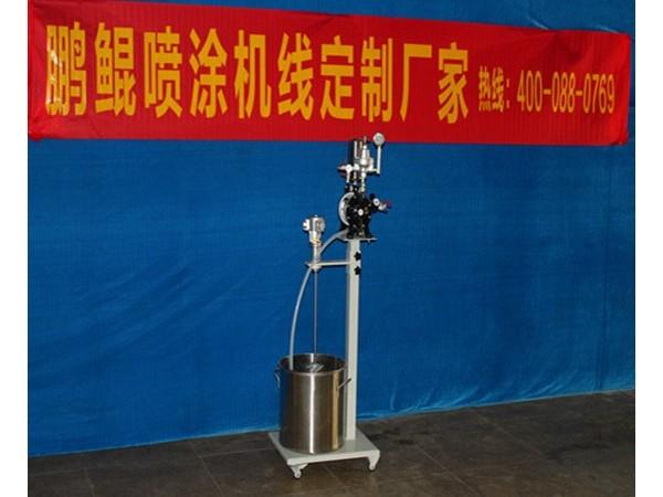 喷漆自动气动隔膜泵浦有什么优势和不足?