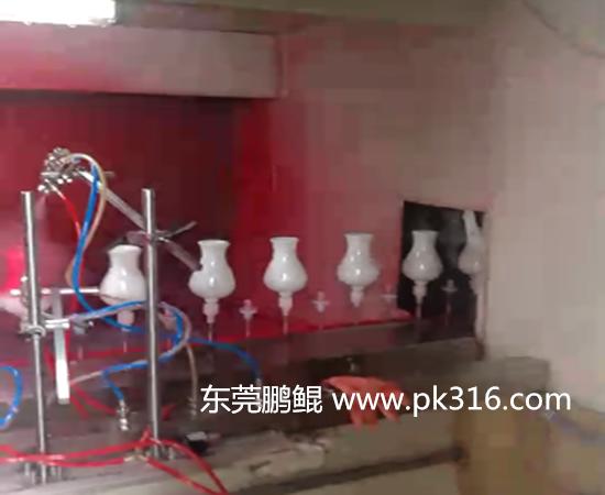 陶瓷花瓶涂装生产线.