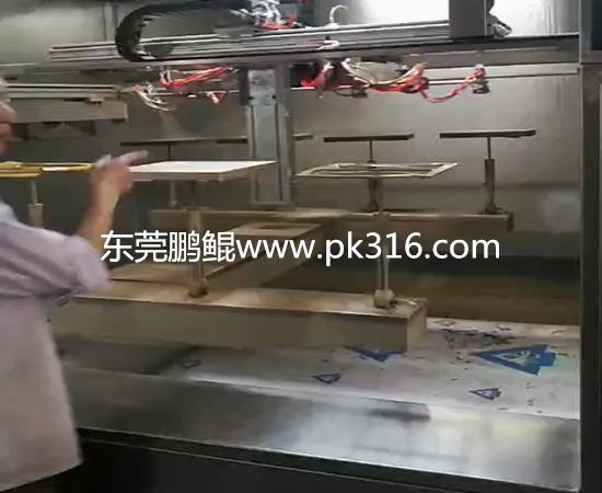 广东莞塑胶件自动喷漆设备 (2)