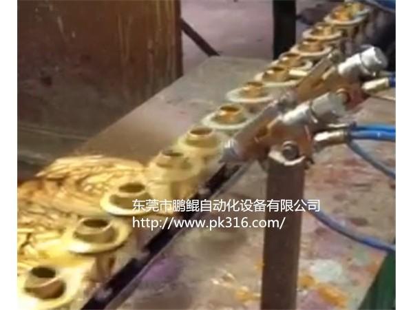 东莞磁环自动喷涂生产线改变传统手工喷涂提高工作效率