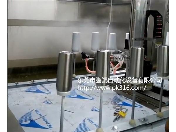 浙江不锈钢保温杯喷漆机表面涂层均匀无色差