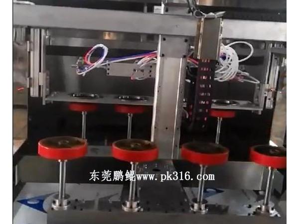 车轮毂自动喷涂设备