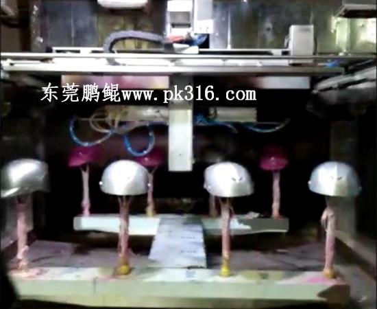 头盔自动喷漆机2